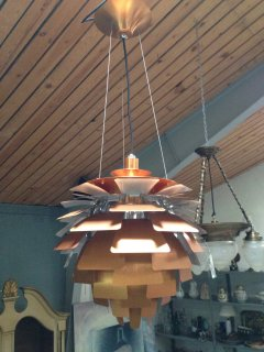 Loftlampe design Kogle